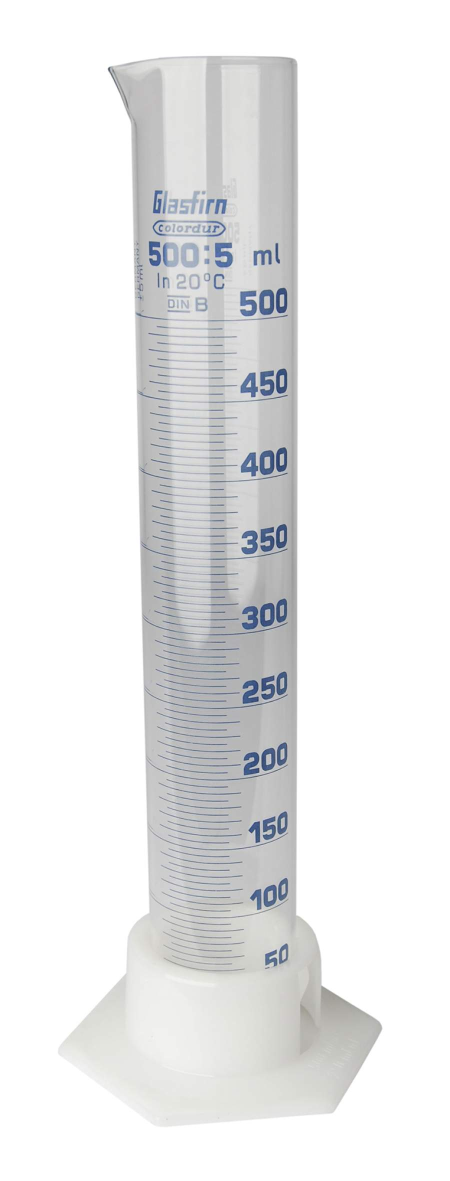 Cilinder - 500ml. - length 38cm.