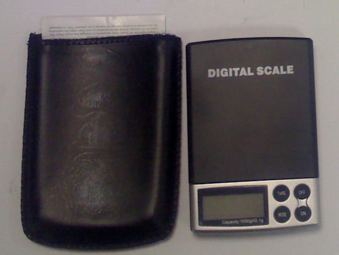 Electronic scale up to 1000 gr. / 0.1gr. resolution