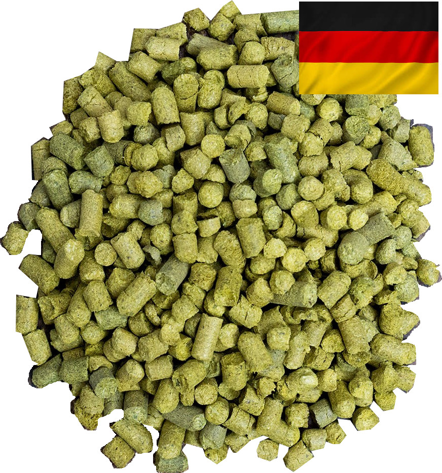 German varieties of hops