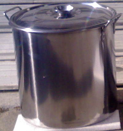 SST Pot 30l. / square type / 0.8mm