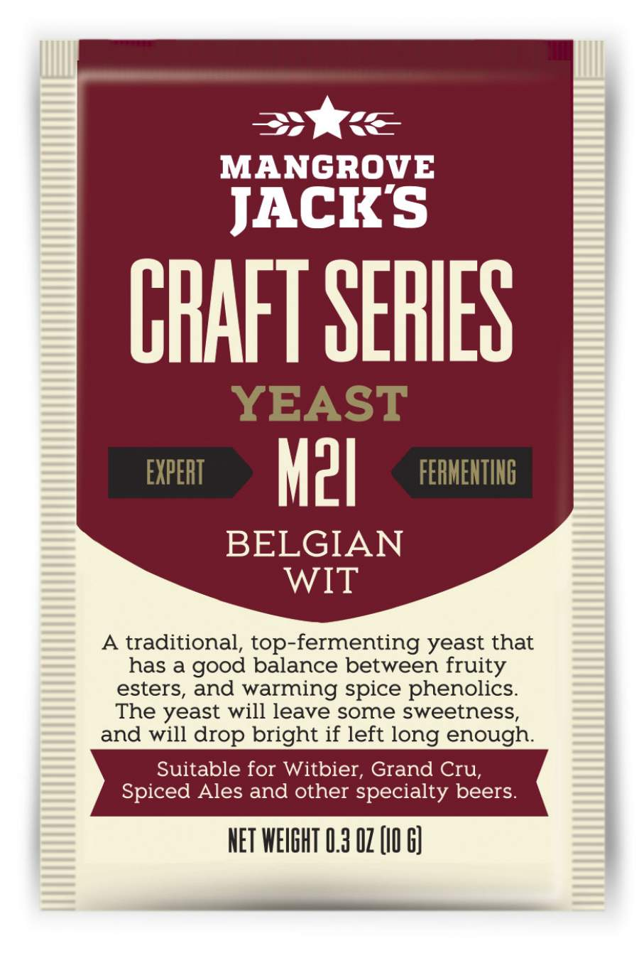 Belgian Wit M21 - Mangrove Jack's Craft Series - 10 g