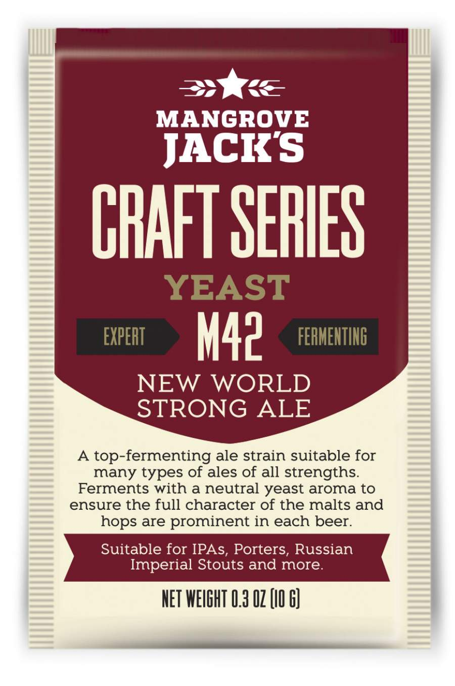 New World Strong Ale M42 - Mangrove Jack's Craft Series - 10 g