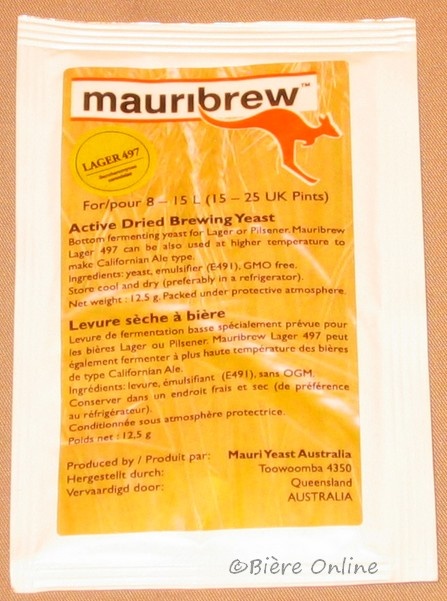 mauribrew LAGER 497 - насипни 11гр.