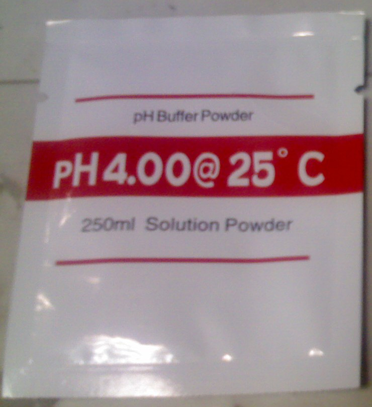 4.0 pH Buffer Powder for 250ml solution
