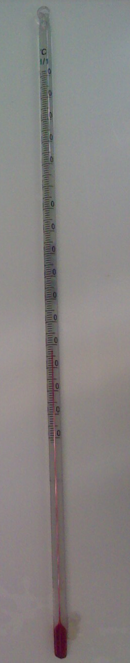 Thermometer -10 to +150 gr. Celsius
