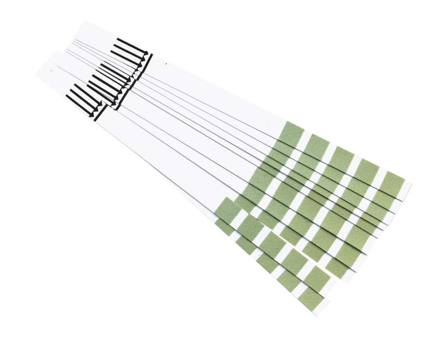 Test strips for water hardness 10pcs.